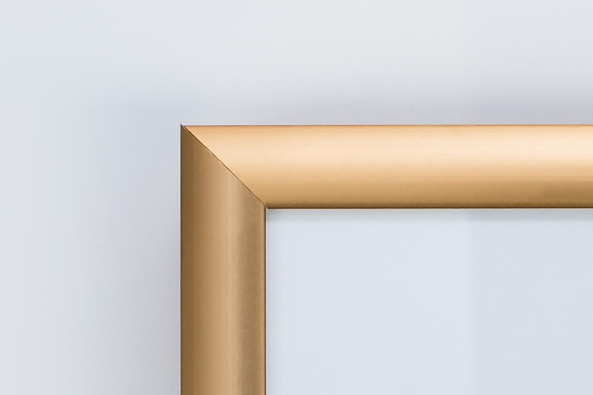 Alu-Bilderrahmen «Poster», 21×29.7cm (DIN A4), bronze – foto-huwi ...